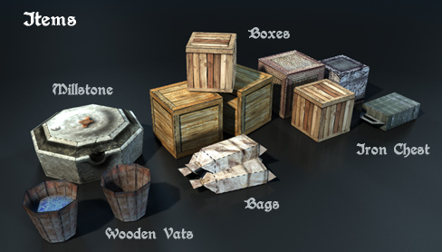 Elven mill items