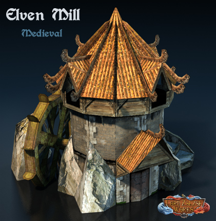 Elven mill medieval