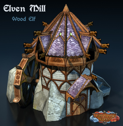Elven mill wood elf