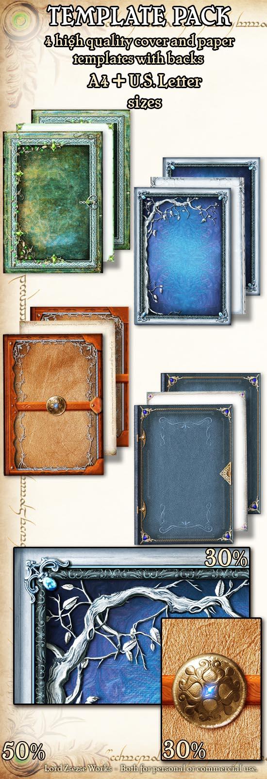 template pack  6 elves
