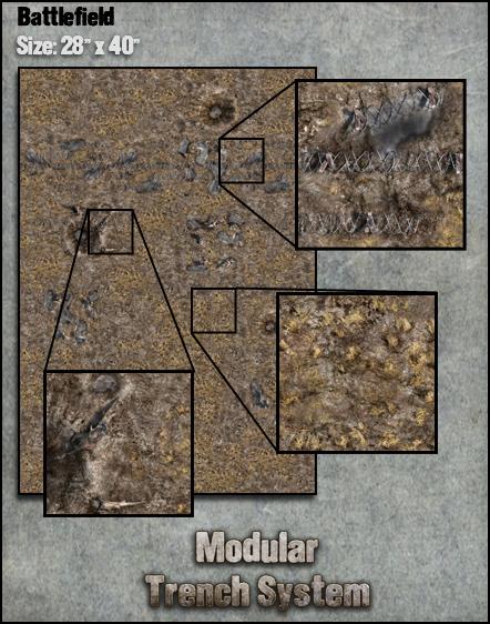 Modular Trench System Battlefield