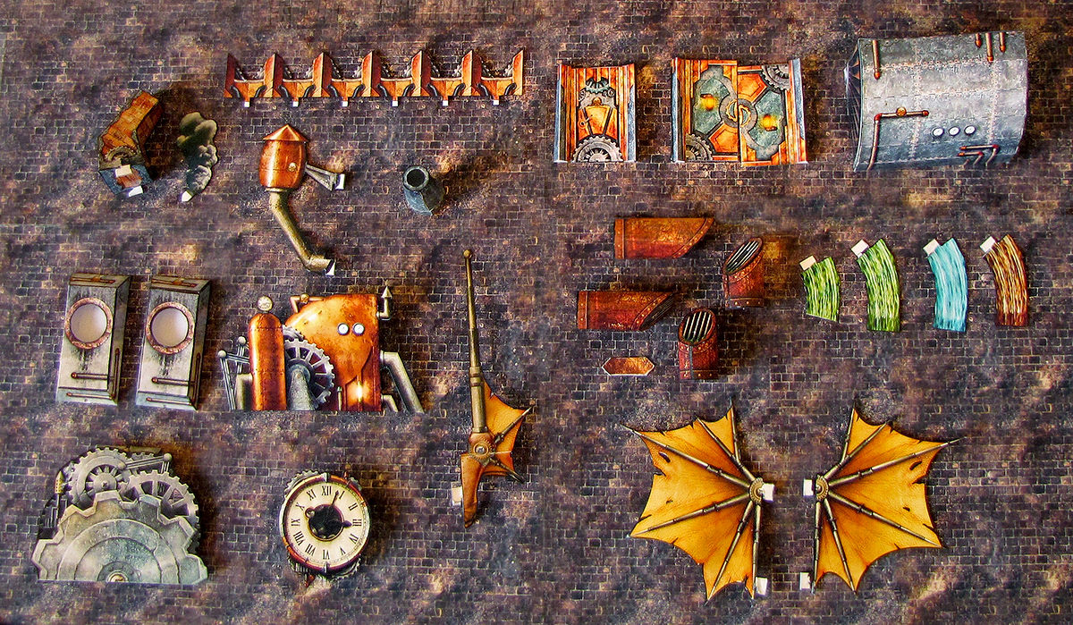steampunk expansion elven papercraft lord zsezse works promotional
